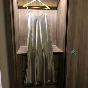 NWOT Satin Maxi Dress